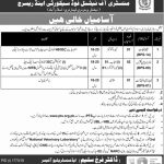 Ministry Of National Food Security And Research PTS Jobs 2020 Application Form