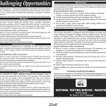NTS invigilator Jobs 2020 Application Form Roll No Slip