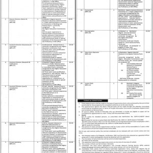 NTS Punjab Information Commission Jobs 2020 Application form Roll No Slip