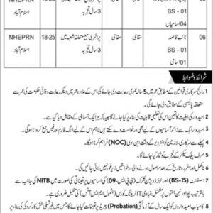 NHEPRN OTS Jobs 2021 Roll No Slip Download Online By Name & CNIC
