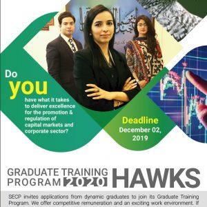 SECP Graduate Training Program 2020 OTS Test Roll No Slip