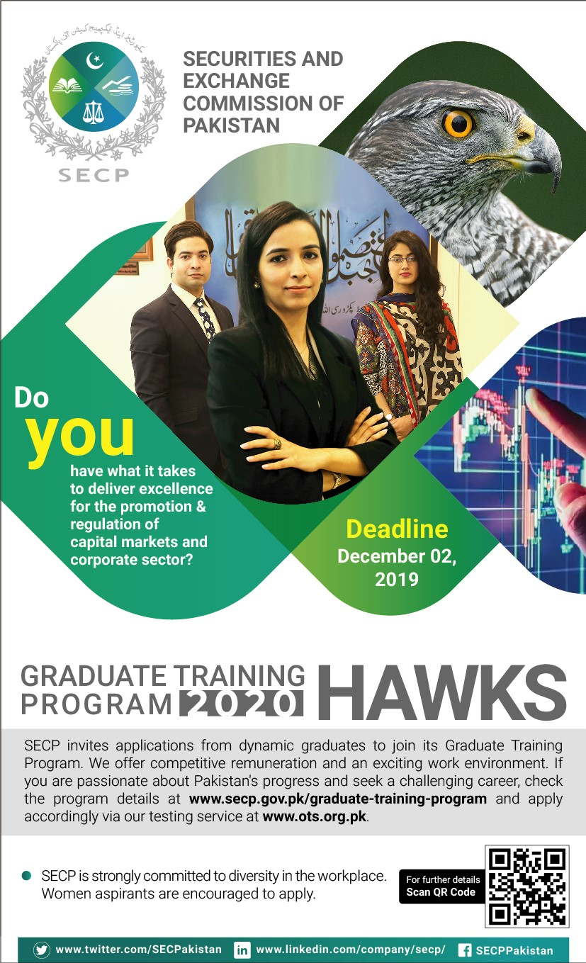 SECP Graduate Training Program 2019 OTS Apply Online Roll No Slip
