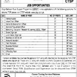 Gilgit-Baltistan Rural Support Program GBRSP CTSP Jobs 2020 Test Roll No Slip