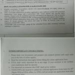 KPK Police A1 Examination 2020 ETEA Test Roll No Slip