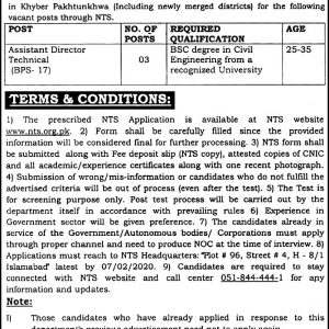 Provincial Housing Authority Jobs 2021