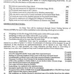 Engineering Universities and Colleges Balochistan CTSP Admission 2020 Application Form