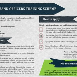 State Bank of Pakistan SBP NTS Jobs 2020 Application Form
