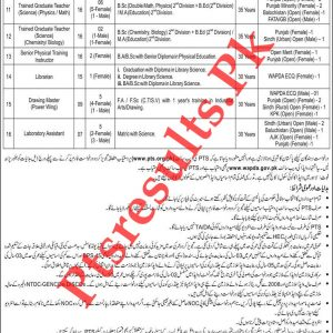 WAPDA Teacher Jobs 2020 PTS Roll No Slip