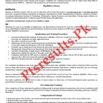 NTS State Bank Officers Scheme 24th Batch Jobs 2020 Roll No Slip