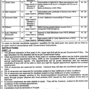 Multan Development Authority MDA Jobs 2021