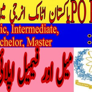 PO Box 91 Wah Cantt Jobs 2021
