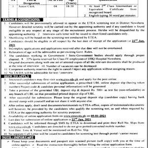 DHQ Hospital Nowshera Jobs 2021
