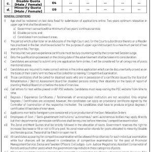 KPPSC Civil Judges Cum Judicial Magistrates / Alaqa Qazi Jobs 2021 Apply online Test Schedule Download