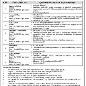NIO National Institute of Oceanography Jobs 2021