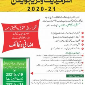 PEEF Scholarship 2021 For Intermediate & Graduate Application Form Download Online