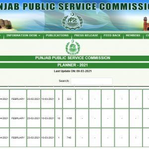 Board of Revenue Punjab Stenographer Jobs PPSC Roll No Slip Download Online