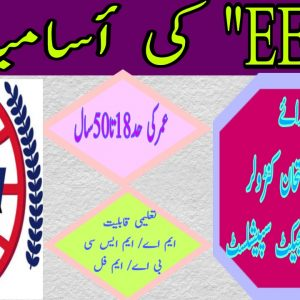 EETA Education & Employment Testing Agency Jobs 2021 Application Form Roll No Slip Download Online