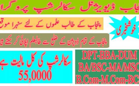 Punjab Divisional Scholarship