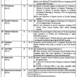Punjab Provincial Assembly OTS Jobs 2021