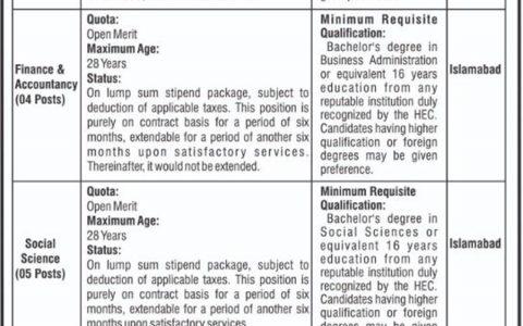 National Electric Power Regulatory Authority NEPRA OTS Jobs